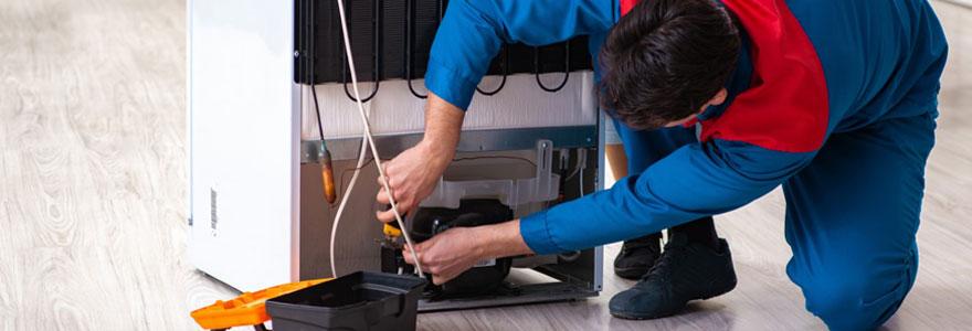Faire une demande de réparation de frigo à domicile