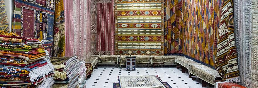 Habillez votre sol de maison avec le tapis berbère